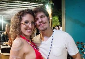 Renata Rezende e Pedro Barros (Ana Júlia Melo/Divulgação)