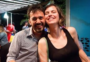 Danilo Fernandes e Luciana Barreto (Ana Júlia Melo/Divulgação)