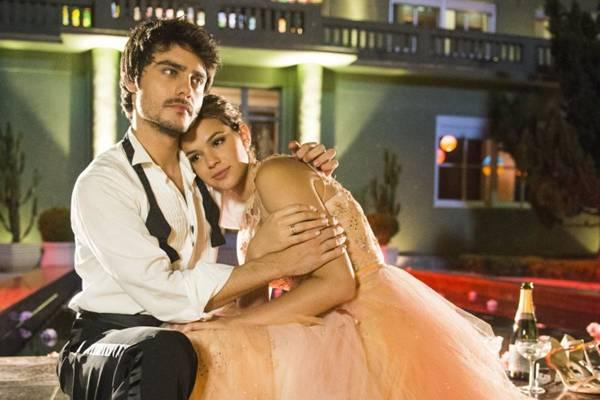 Os dois se conheceram durante as gravações da segunda fase da novela Em família (João Miguel Júnior/TV Globo)