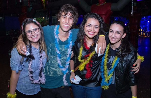 Carolina Jadoranty, Lucas Miranda, Ana Luiza Meneses e Elisa Souza (Rômulo Juracy/Esp. CB/D.A Press)
