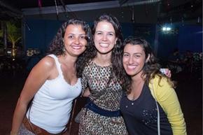 Claudia Itaboraí, Roberta Figueiredo e Carolina Lacerda (Rômulo Juracy/Esp. CB/D.A Press)