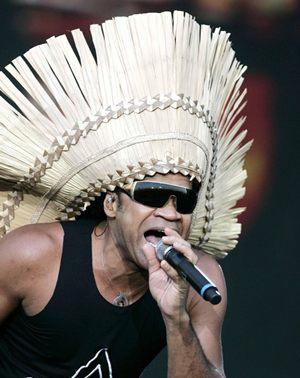 Carlinhos Brown é uma das atrações mais esperadas da noite (Paul White/D.A Press)