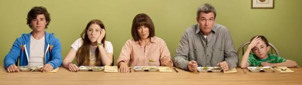 Em The middle, a rotina familiar é mostrada com ares de comédia (Warner/Divulgação)