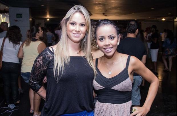 Hadassha Suaid e Caroline Santos (Rômulo Juracy/Esp. CB/D.A Press)