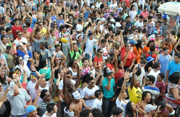 O bloco levou muitos foliões às ruas no ano passado (Breno Fortes/CB/D.A Press)