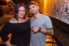 Amanda Reis e Hugo Almeida (Rômulo Juracy/Esp. CB/D.A Press)