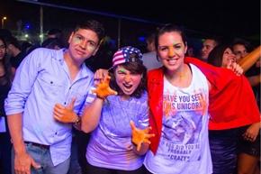Vitor Hugo, Amanda Novaes e Ludmila Vasconcelos (Rômulo Juracy/Esp. CB/D.A Press)