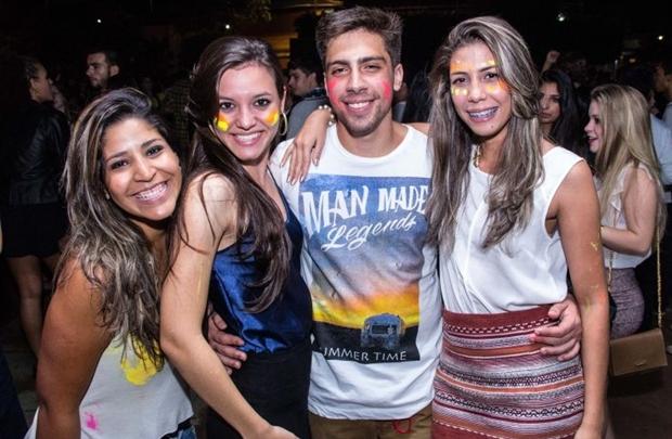Nathja Eduarda, Vitória Morais, Mateus Alves e Fernanda Evelly (Rômulo Juracy/Esp. CB/D.A Press)