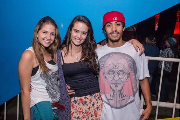 Lorraine Lourenço, Ana Cavalcanti e Vitor Hugo (Rômulo Juracy/Esp. CB/D.A Press)
