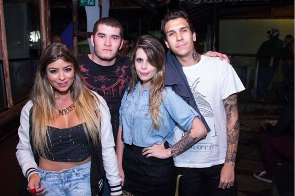 Julia Savite, Mateus Rosa, Thami Miotto e Felipe Padilha (Rômulo Juracy/Esp. CB/D.A Press)