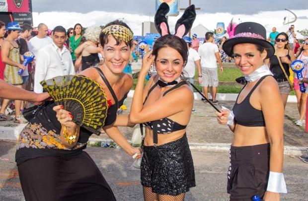 Ana Lucenas, Patricia Del Rey e Patricia Bermudes (Rômulo Juracy/Esp. CB/D.A Press)