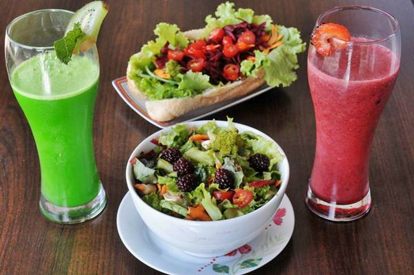 Frutas frescas fazem a diferença nos pratos do Ultraleve  (Marcelo Ferreira/CB/D.A Press)