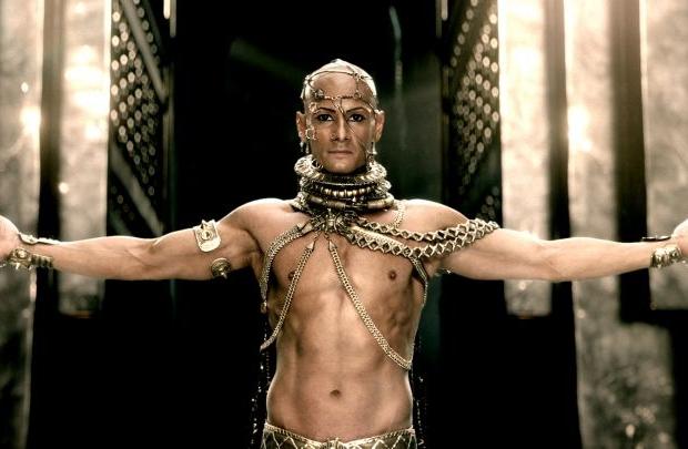 Rodrigo Santoro mergulha novamente no personagem Xerxes (Warner Bros. Pictures/Divulgação)