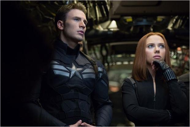 Scarlett Johansson vai fazer o papel da Viúva-negra ao lado de Chris Evans (The Walt Disney Pictures/Divulgação)