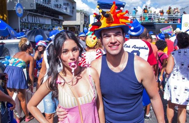 Sandra Oliveira e Vinicius Moreira (Romulo Juracy/Esp. CB/D.A Press)