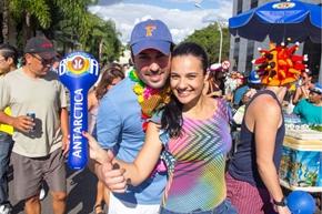 Thiago Oliveira e Larissa Gaspar (Romulo Juracy/Esp. CB/D.A Press)