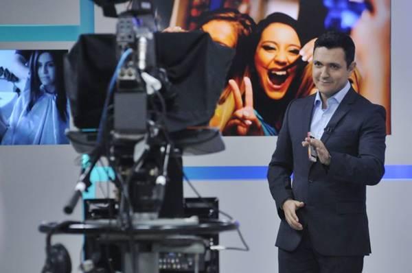 Clube TV: jornalismo e entretenimento sob o comando de Arthur Luis (Carlos Vieira/CB/D.A Press)