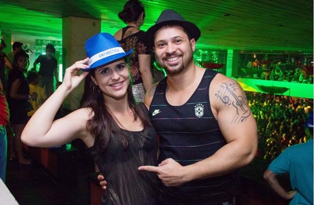 Priscila Miranda e Vicente Dadooriam (Romulo Juracy/Esp. CB/D.A Press)