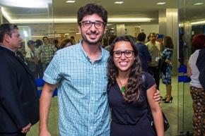 Gustavo Cabral e Isabella Vitral (Romulo Juracy/Esp. CB/D.A Press)