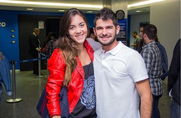 Alessandra de Melo e Leandro Claudino (Romulo Juracy/Esp. CB/D.A Press)