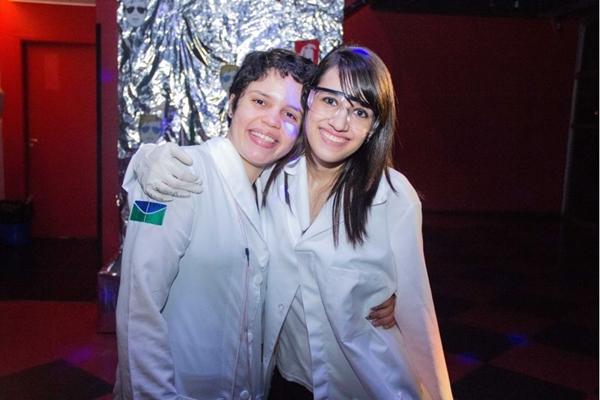Amanda Ventura e Amanda Lemos