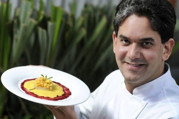 Frutas nativas preparadas com técnicas modernas são marca do chef Rodrigo Cabral (Carlos Vieira/CB/D.A Press)