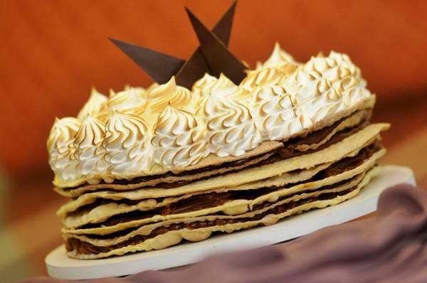 Torta rogel: camadas de massa crocante e doce de leite (Carlos Vieira/CB/D.A Press)