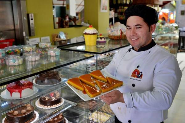 Cícero da Silva foi apresentado à torta marroquina por um indiano (Gustavo Moreno/CB/D.A Press)