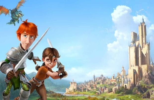 Justin e Talia formam uma dupla que mescla humor e coragem (Sony Pictures/Divulgação)