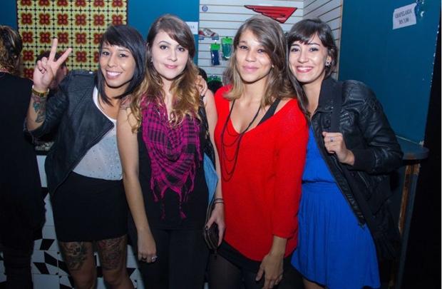 Stefanie de Paula, Karine Gonçalves, Adriany Nascimento e Julie Ribeiro (Romulo Juracy/Esp. CB/D.A Press)