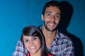 Renata Vidal e Eduardo Sousa (Romulo Juracy/Esp. CB/D.A Press)