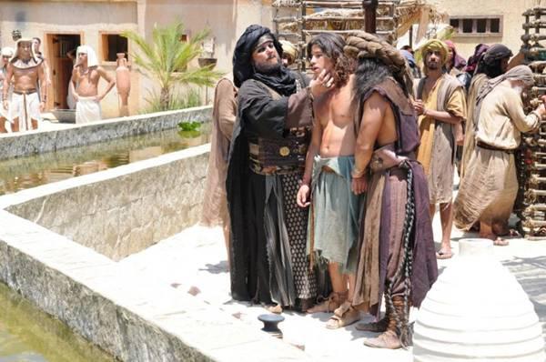 Cena de José do Egito: produções religiosas ganham o mercado norte-americano (Record/Divulgação)