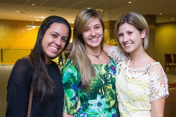 Lorena Lima, Ana Beatriz Vekic e Natália Bento (Romulo Juracy/Esp. CB/D.A Press)