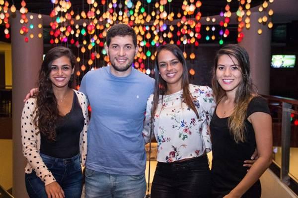 Priscila Macedo, Wily Leão, Renata Pereira e Giovana Santana  (Romulo Juracy/Esp. CB/D.A Press)