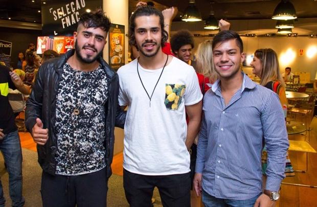 Bruno Eustáquio, Douglas Nascimento e Vander Ribeiro (Rômulo Juracy/Esp. CB/D.A Press)