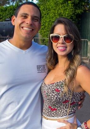 Edson e Juliana Barreto (Rômulo Juracy/Esp. CB/D.A Press)