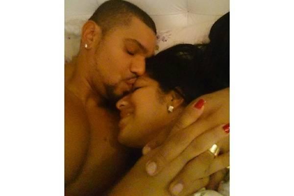 Naldo postou foto com a esposa e declarou-se ap�s aborto espont�neo: ''amo voc�'' (Reprodu��o/Instagram)