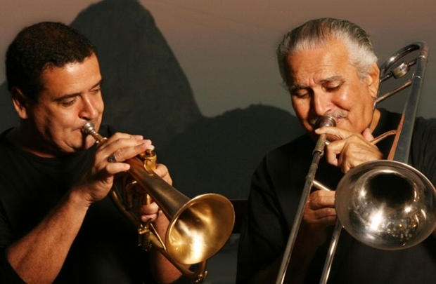 Silvério Pontes e Zé da Velha: os dois se conheceram em uma roda de choro e logo formaram um duo que não parou mais de tocar (Berg Silva/Divulgação)