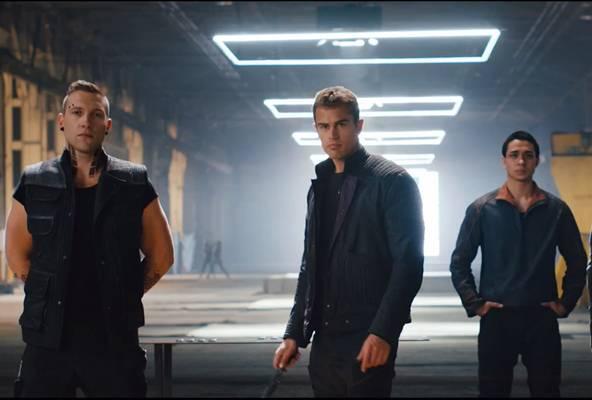Cena do filme Divergente (Reprodução/Youtube)