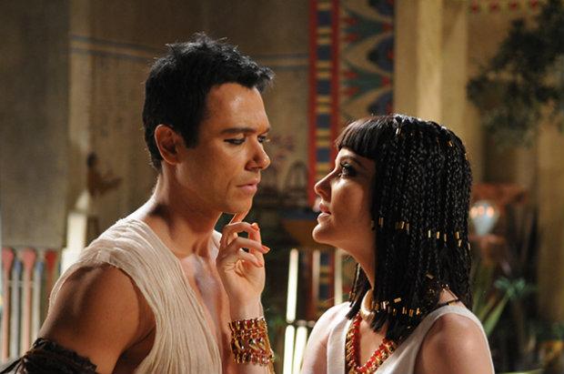 José do Egito, com Ângelo Paes Leme e Larissa Maciel, foi exibida no México ( Michel Angelo/TV Record/Divulgação)
