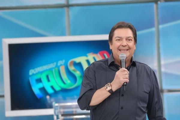 Fausto Silva aposta em competições entre os atores da Globo  (Zé Paulo Cardeal/TV Globo)