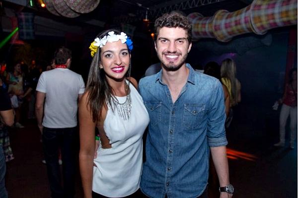 Pedro Guedes e Larissa Amaral    ( Rômulo Juracy/Esp. CB/D.A Press)
