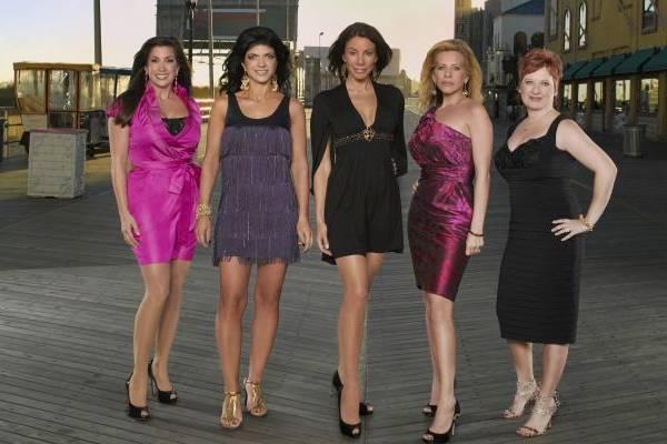 As milionárias e escandalosas participantes da atração (Fox Life/Divulgação)