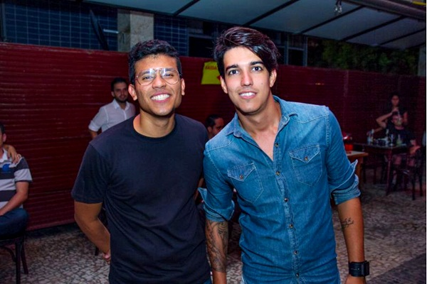 Gabriel Menezes e Felipe Couceiro (Romulo Juracy/Esp. CB/D.A Press)