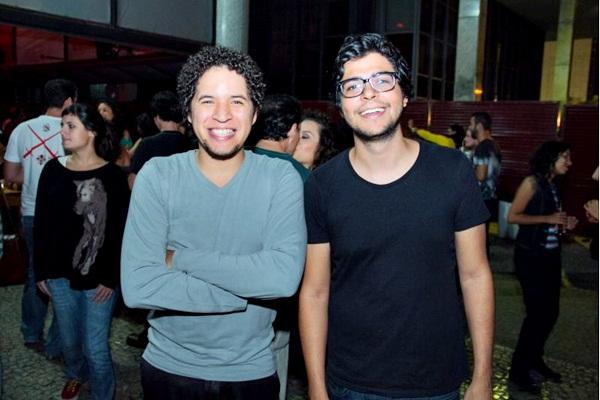 Davi Santos e Lucas Seixas (Romulo Juracy/Esp. CB/D.A Press)