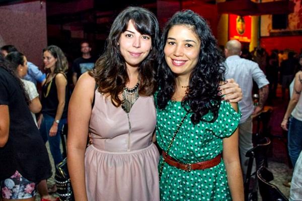 Ana Luiza Machado e Mariana Henrique  (Romulo Juracy/Esp. CB/D.A Press)