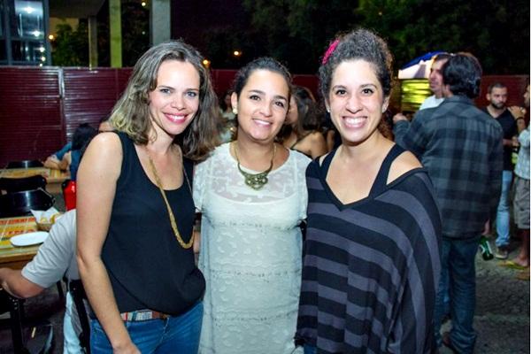 Daniela Brunano, Naiara Pontes e Marina Manzur (Romulo Juracy/Esp. CB/D.A Press)