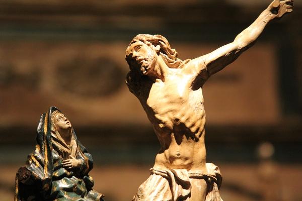 A estátua Cristo Bailarino será exposta em Brasília pela primeira vez (Divulgação )