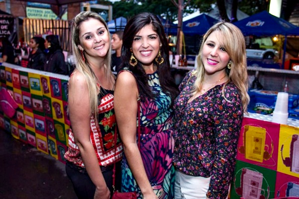 Letícia Freitas, Marcela Paz e Manoela Fassina (Rômulo Juracy/Esp. CB/D.A Press)