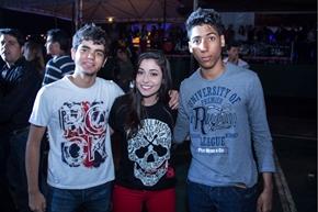Guilherme Lacerda, Ana Luisa Oliveira e Guilherme de Morais (Rômulo Juracy/Esp. CB/D.A Press)